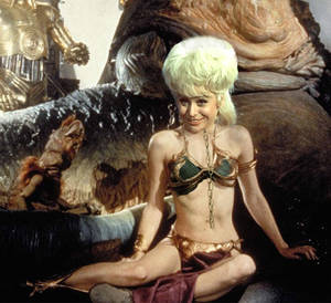 'Ere, aint you a bit short for a stormtrooper?