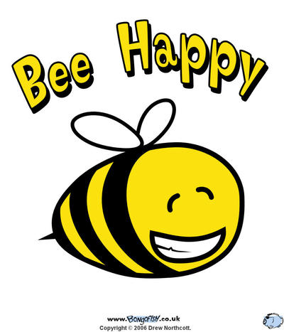 little honey bee clip art