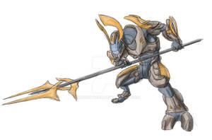 Honor Guard Ranger - WIP concept