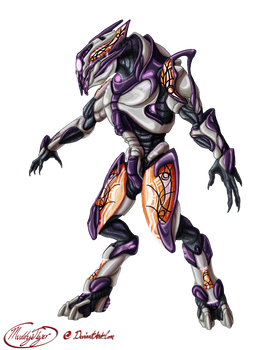 Ralon's remodeled armor design - commission