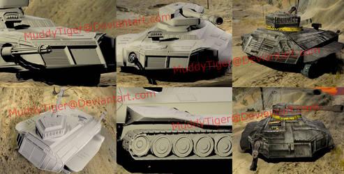 3D Model Tank Project