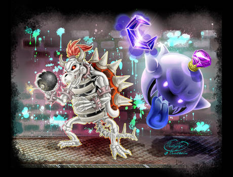 King Bowser and King Boo