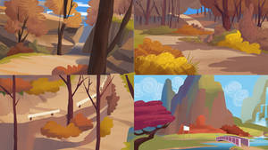 PK White Tail Woods thumbnails