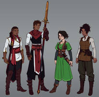 Commission: Adventuring Party