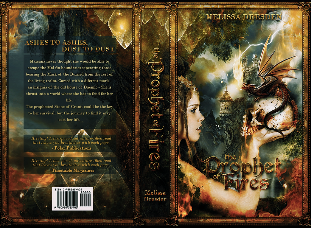 Prophet of Fires Book Jacket by Abbysidian