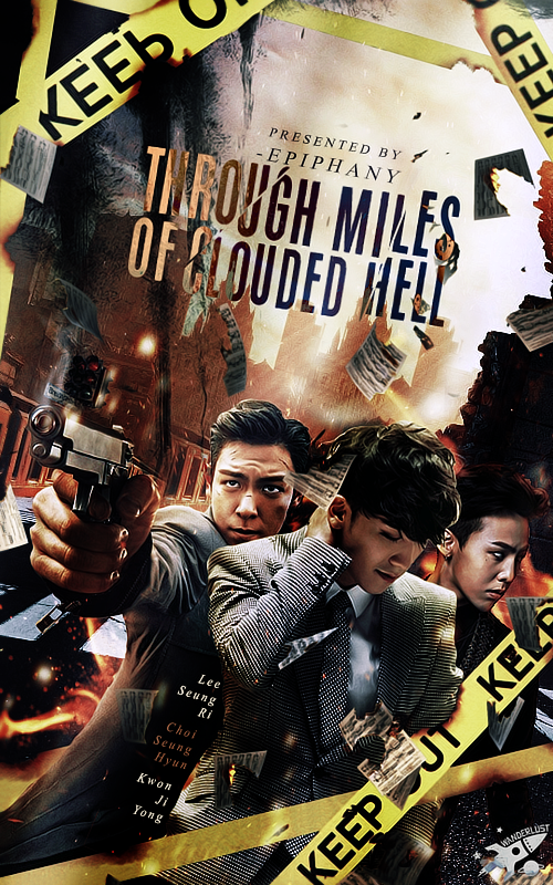 Through Miles of Clouded Hell Poster by Abbysidian