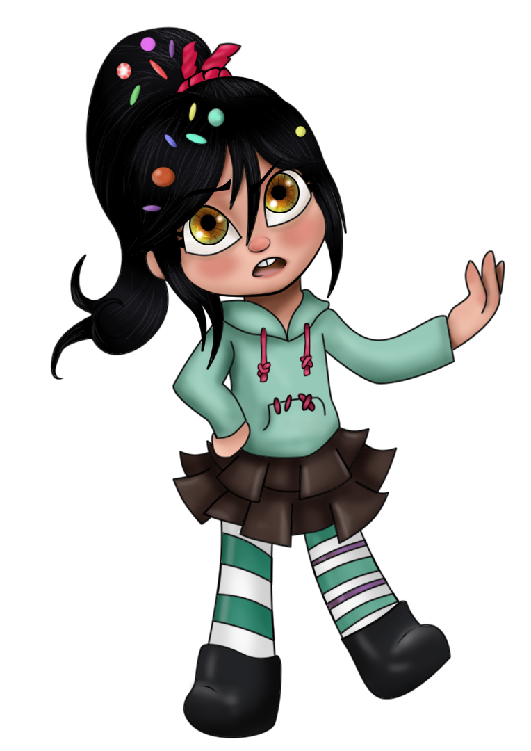 Vanellope by Nefairyious on deviantART Vanellope And King Candy
