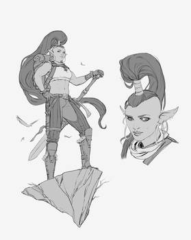 Viri, half-orc