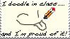 I Doodle in Class by Sam-Echidna