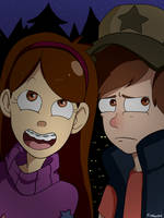 Gravity falls by Ful-Fisk