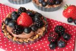 Pretzel Crust Nutella Mini Cakes