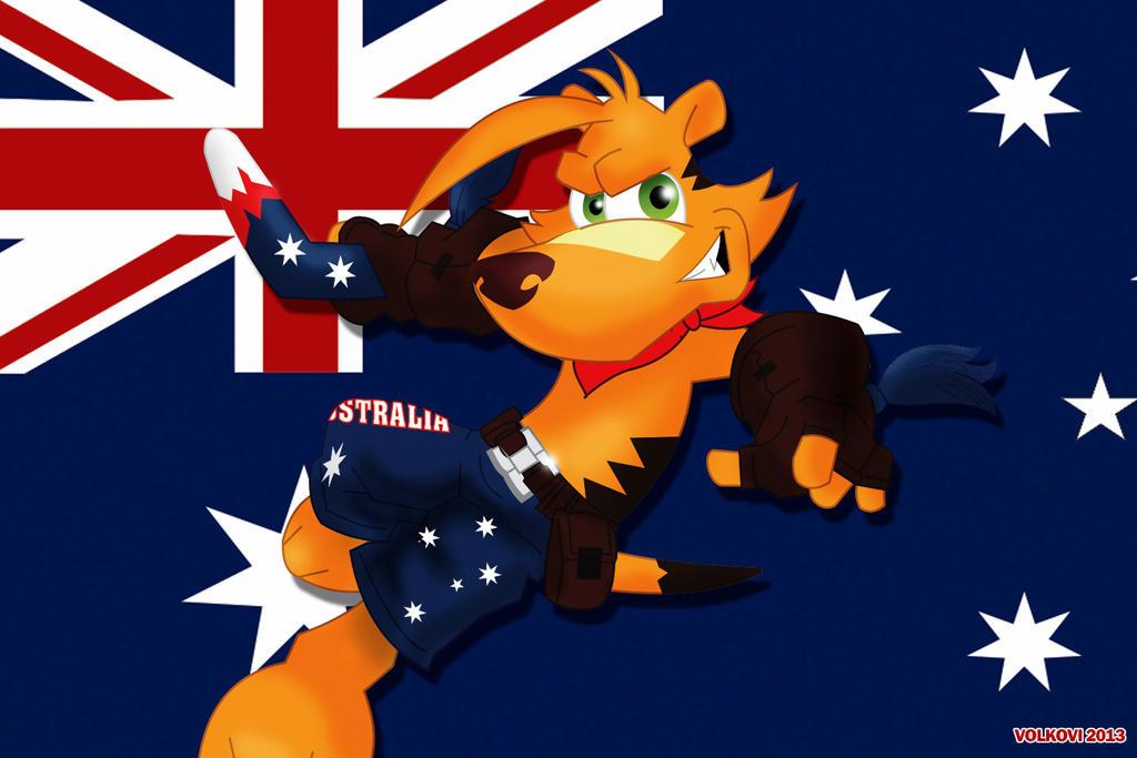 Ty the tasmanian tiger by aldebaran2003 on DeviantArt