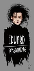 Edward ScissorHands by Michelkuchiki
