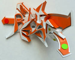 3D GRAFFITI reality by anhpham88