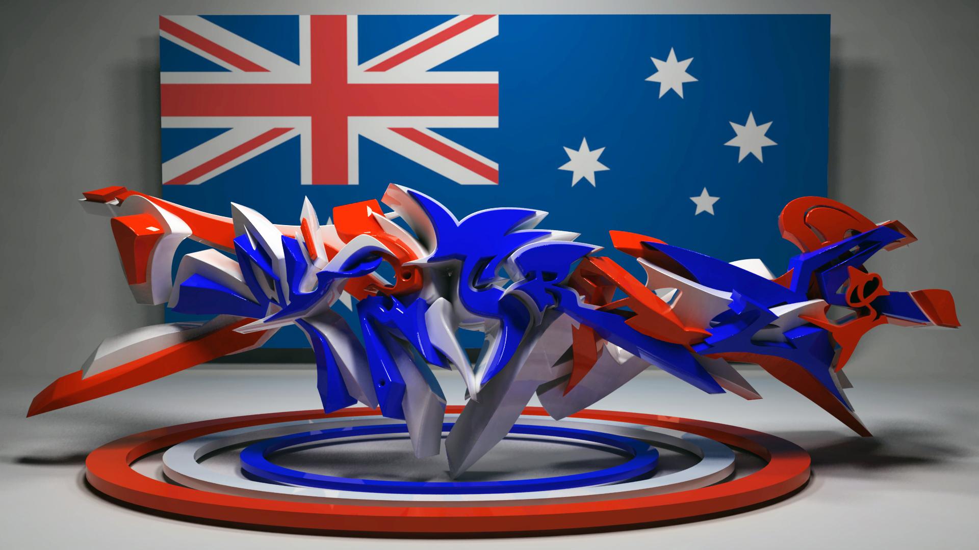 australia graffiti by anhpham88