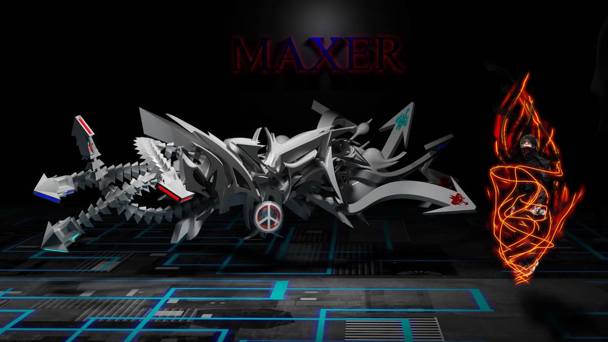 MAXER GRAFFITI BY ANH PHAM