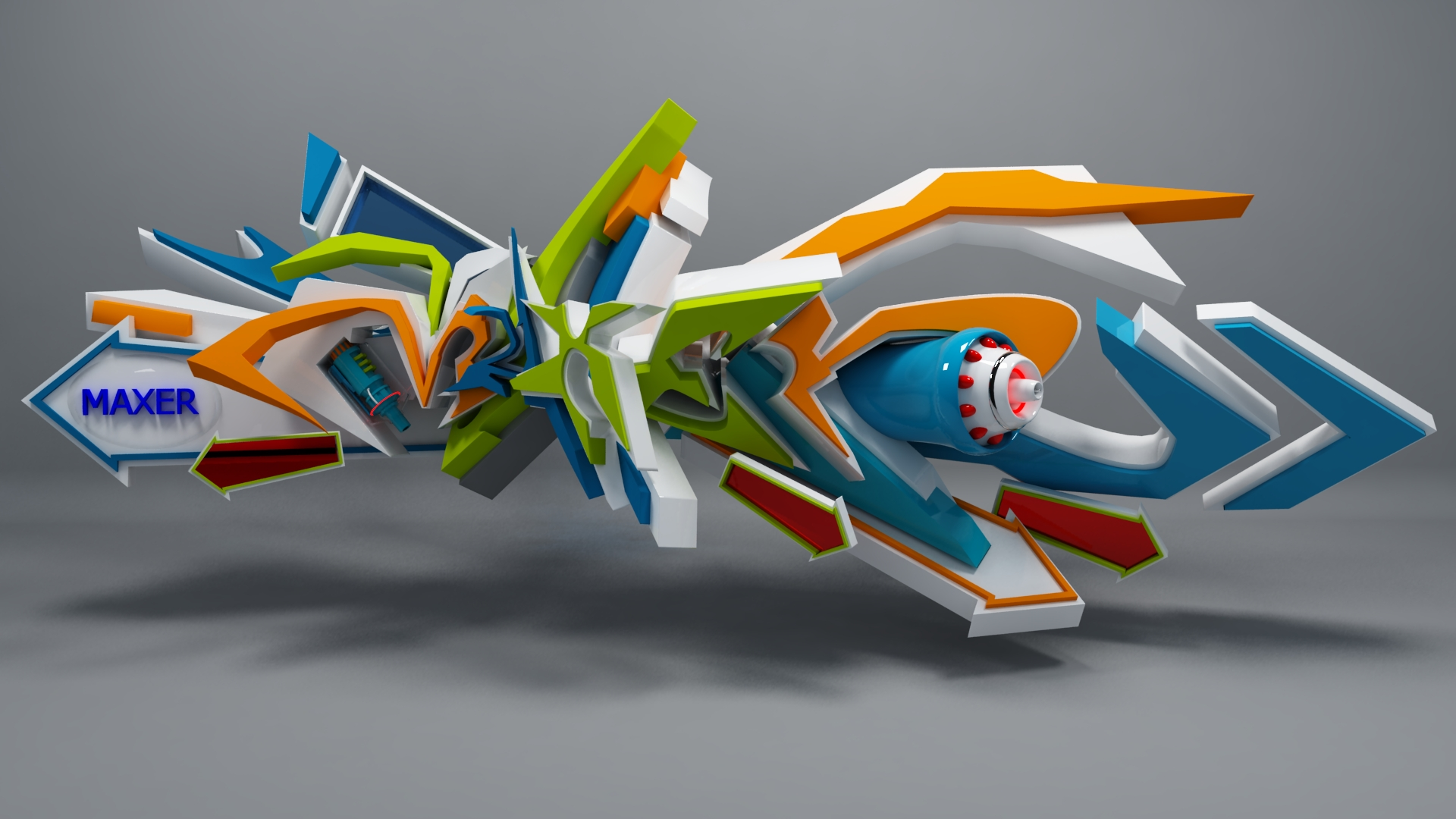Maxer 3d graffiti by anhpham88 maxer 3d graffiti by anhpham88