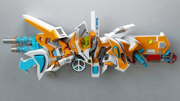 DJ SouRay 3d graffiti