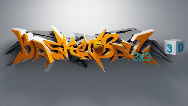 DJ SouRay 3d graffiti WILD STYLE