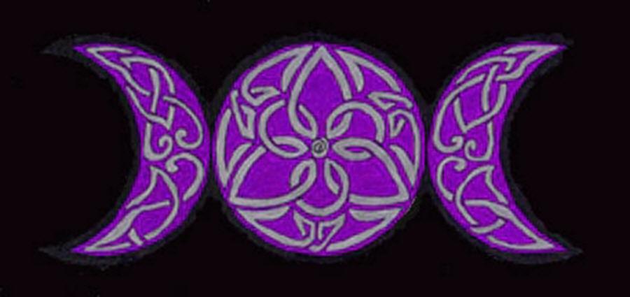 Celtic Triple Moon by merlynhawk on DeviantArt