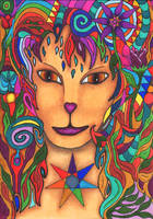 The Lady by merlynhawk