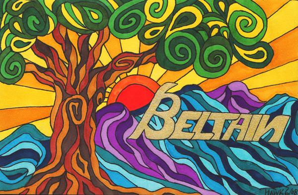 Beltane Tree by merlynhawk