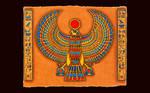 Sun God Horus
