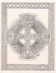 Celtic Faith - line art
