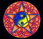 Yin Yang Pentacle