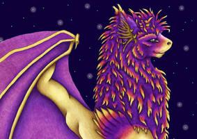 Merlyn Among the Stars by merlynhawk