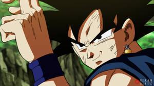 Goku com potara by RenanFNA