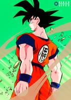 Classic Goku, from Yuya Takahashi by RenanFNA