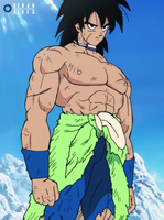 Broly New Design by RenanFNA