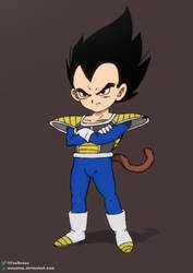 Kid Vegeta by RenanFNA