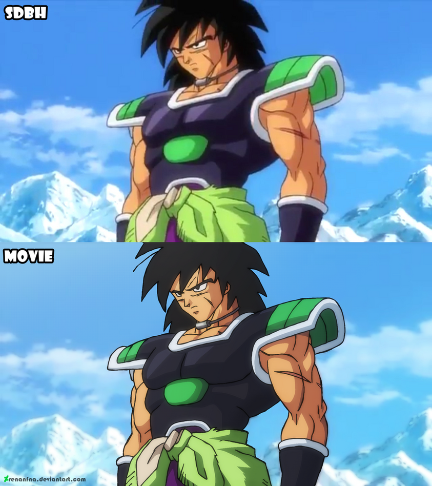 Broly from yamamuro by RenanFNA