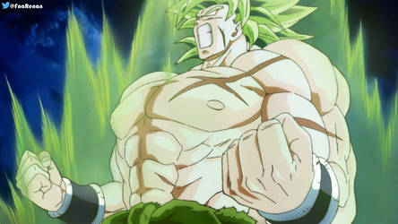 New Broly recolored by RenanFNA