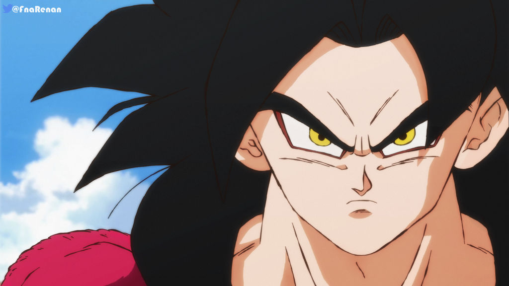 Goku Ssj4 in Shintani Style by RenanFNA