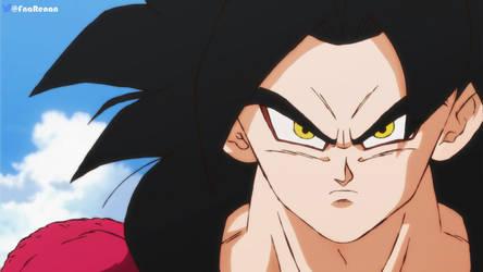 Goku Ssj4 in Shintani Style by RenanFNA
