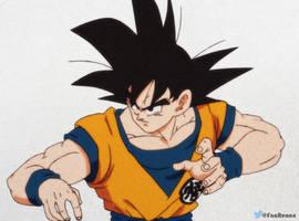 Goku base in Shintani style by RenanFNA