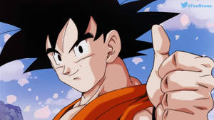 Goku redrawing by RenanFNA