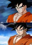 Goku redrawing #2
