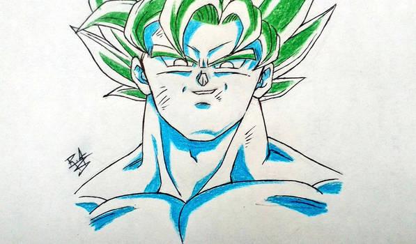Goku 90's style