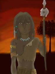 Tribal Girl by Moriyasu215