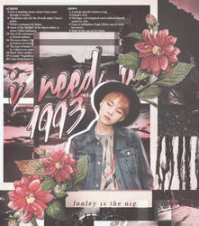 [#1][GRAPHIC] 1993 YOONGI by ptbh-kristine