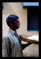 flowerman by abhimanyughoshal