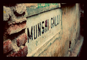 Munshi Galli - the beginning by abhimanyughoshal