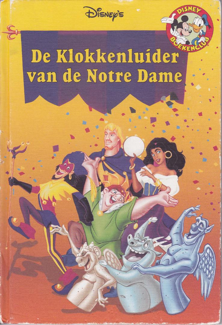 De klokkenluider van de notre dame boek voorpagina by superdarklugia