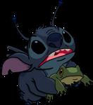 Stitch And Froge by superdarklugia