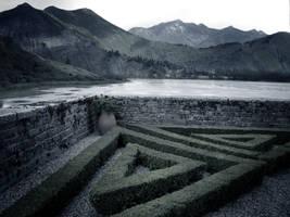 Premade background lake by la-Structure-du-Ciel