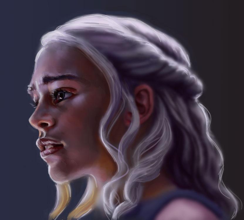 Daenerys by la-Structure-du-Ciel